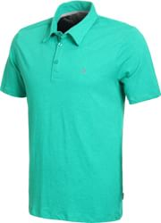 Volcom Wowzer Polo Shirt - kelly green heather