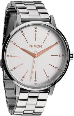 Nixon Kensington Watch - silver/champagne crystal - view large