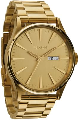 Nixon Sentry SS Watch - all gold - view large