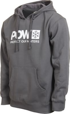 Protect Our Winters Classic Logo Hoodie - charcoal - view large