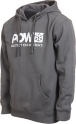 Protect Our Winters Classic POW Logo Hoodie - charcoal