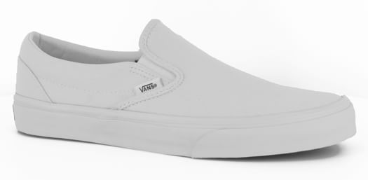 Vans Classic Slip-On Skate Shoes - true white - view large