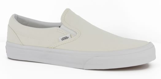 Vans Classic Slip-On Skate Shoes - white - view large