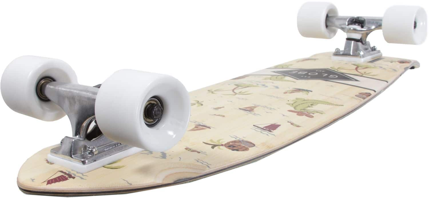globe sun city bamboo 30 cruiser skateboard complete. Black Bedroom Furniture Sets. Home Design Ideas
