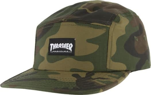 Thrasher Thrasher 5-Panel Hat - camo - view large