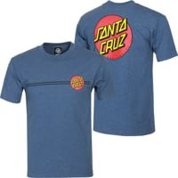 Santa Cruz Classic Dot T-Shirt - denim heather