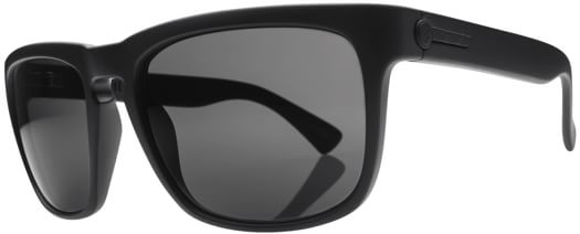 Electric Knoxville Polarized Sunglasses - matte black/melanin grey polar l1 lens - view large