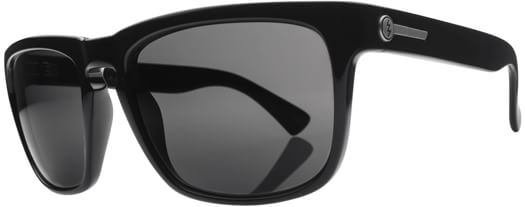 Electric Knoxville Sunglasses - gloss black/melanin grey lens - view large