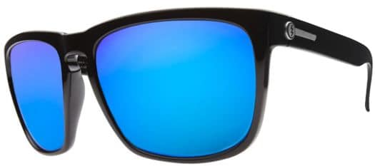 Electric Knoxville XL Polarized Sunglasses - gloss black/melanin blue polar l2 lens - view large
