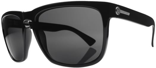 Electric Knoxville XL Polarized Sunglasses - gloss black/melanin grey polar l1 lens - view large