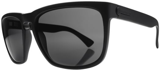 Electric Knoxville XL Polarized Sunglasses - matte black/melanin grey polar l1 lens - view large