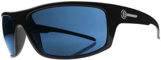 Electric Tech One Polarized Sunglasses - gloss black/melanin blue polar l2 lens - view large