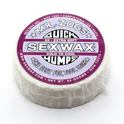 Mr Zogs Quick Humps Cold (Purple) Surf Wax - Eco Box - view large