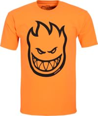 Spitfire Bighead T-Shirt - orange/black print