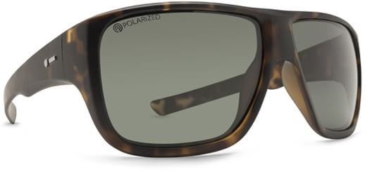 Dot Dash Aperture Sunglasses - tortoise/grey polarized lens - view large