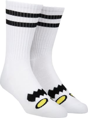 Toy Machine Monster Face Crew Sock - white - view large