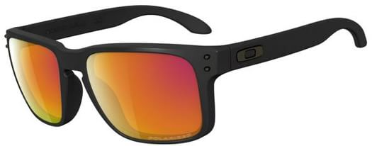 Holbrook Polarized Sunglasses  oakley holbrook polarized sunglasses matte black ruby iridium