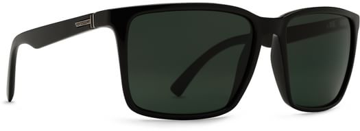 Von Zipper Lesmore Sunglasses - black gloss/vintage grey lens - view large