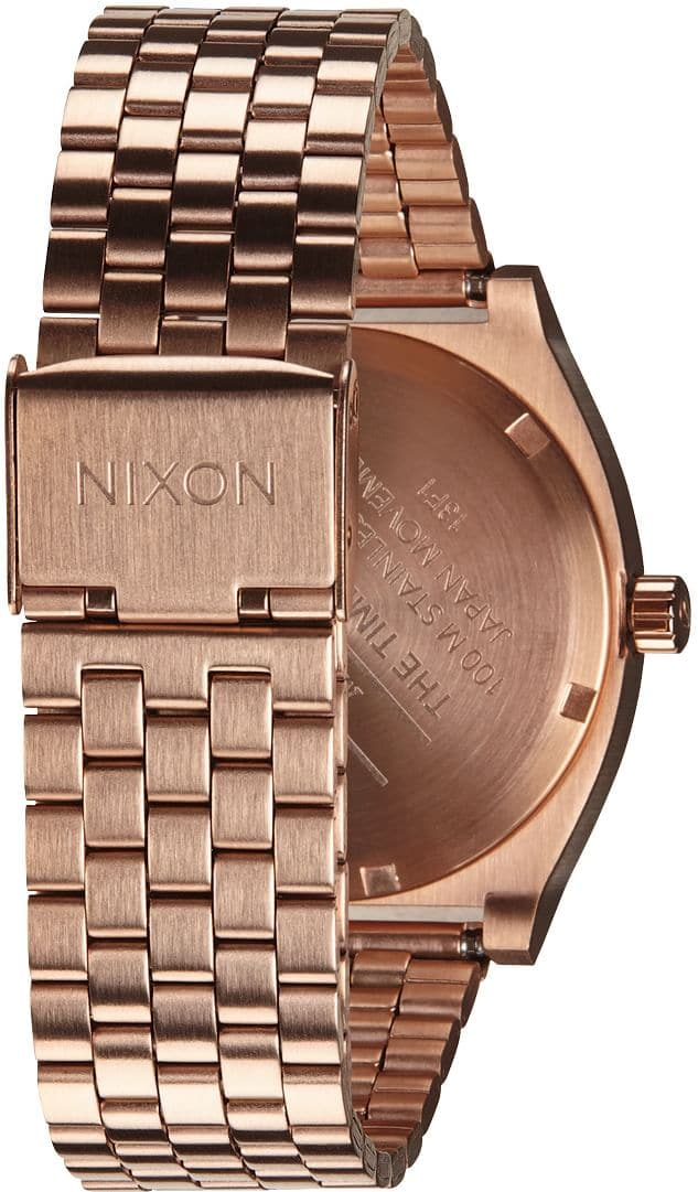 nixon time teller watch all rose gold shipping all rose gold