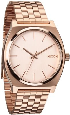 Nixon Time Teller Watch - all rose gold - view large