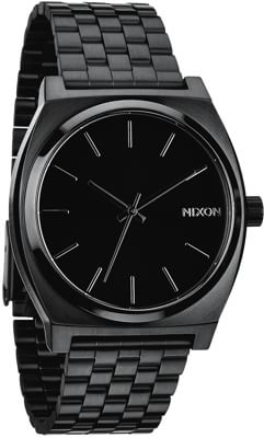 Nixon Time Teller Watch - all black - view large