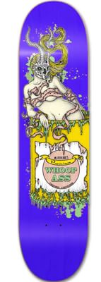 Lifeblood Whoop Ass 8.5 Skateboard Deck - blue - view large