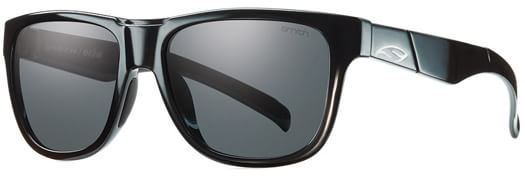 Smith Lowdown Slim Polarized Sunglasses - black/polar gray lens - view large