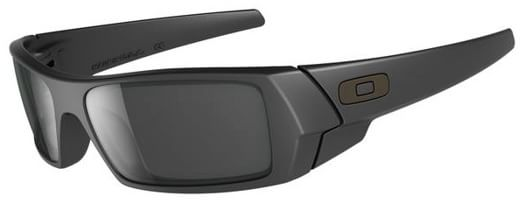 Oakley Gascan Sunglasses - matte black/black iridium lens - view large