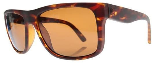 Electric Swing Arm Polarized Sunglasses - tortoise shell/melanin bronze polar l1 lens - view large