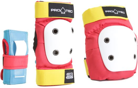 ProTec Street Gear Junior 3-Pack Pad Set - retro - view large