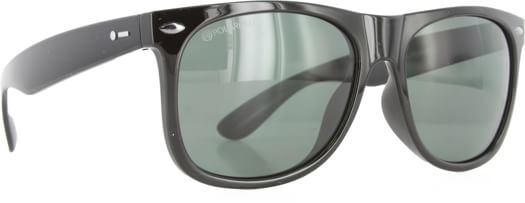 Dot Dash Kerfuffle Sunglasses - black/grey polarized lens - view large