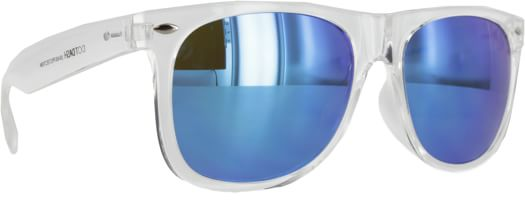 Dot Dash Kerfuffle Sunglasses - crystal/light blue chrome lens - view large