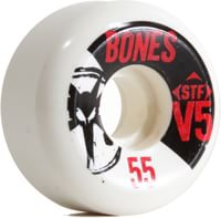 Bones STF V5 Side Cut Skateboard Wheels - white (83b)