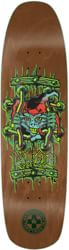 Black Label Emergency Lucero X2 8.88 Skateboard Deck - brown