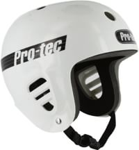 ProTec Full Cut Skate Helmet - gloss white