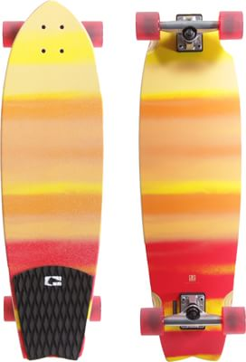"Globe Chromantic 33"" Cruiser Complete Longboard - tequila - view large"