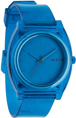 Nixon Time Teller P Watch - translucent blue - view large