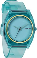 Nixon Time Teller P Watch - translucent mint