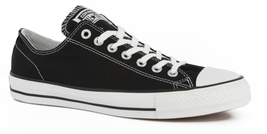 Converse Chuck Taylor All Star Pro Skate Shoes - black/white canvas - view large