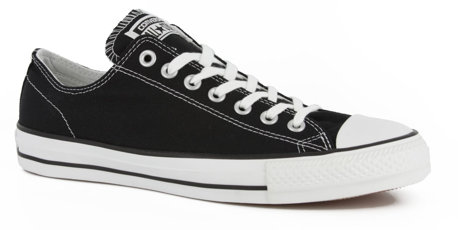 converse chuck taylor all star pro skate shoes black