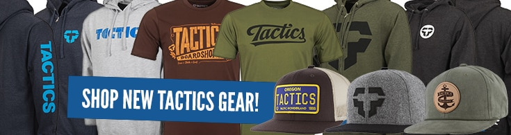 Shop New Gear from Tactics!