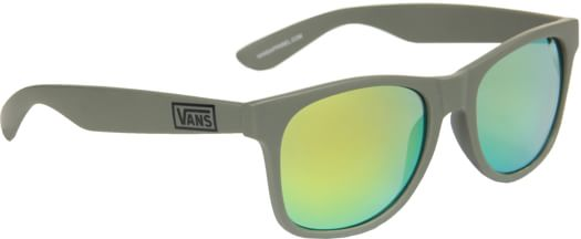 Vans Spicoli 4 Shades Sunglasses - army mirrored lens - view large