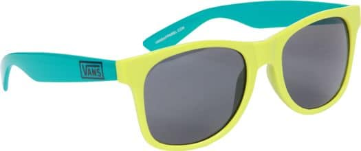 Vans Spicoli 4 Shades Sunglasses - chartreuse/blue - view large