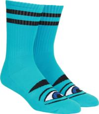 Toy Machine Sect Eye III Crew Sock - blue