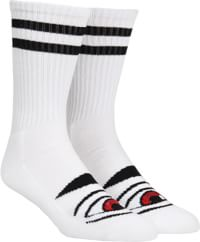 Toy Machine Sect Eye III Crew Sock - white