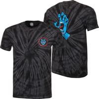 Santa Cruz Screaming Hand T-Shirt - spider black