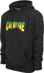 Creature Logo Hoodie - charcoal heather