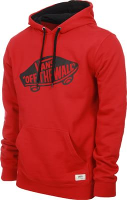 Vans OTW Hoodie - chili pepper/black - view large