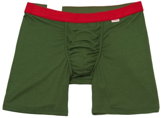 MyPakage Weekday Boxer Brief - forest/crimson/forest - view large