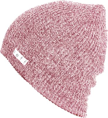 Neff Daily Heather Beanie - maroon/white - view large